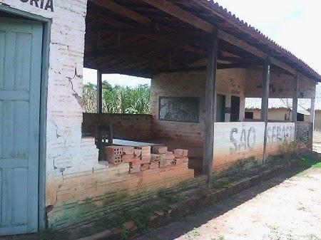 Matéria do blog sobre precariedade de escola na zona rural de Caxias repercute no Portal Noca!!!