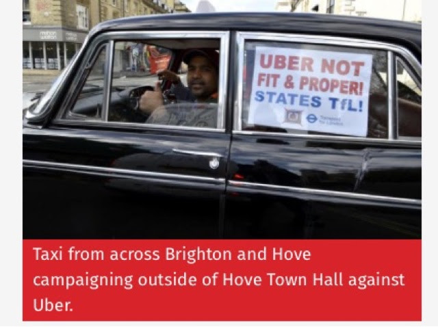 Decision Later Today on Uber's future in Brighton and Hove, could result in disappointment