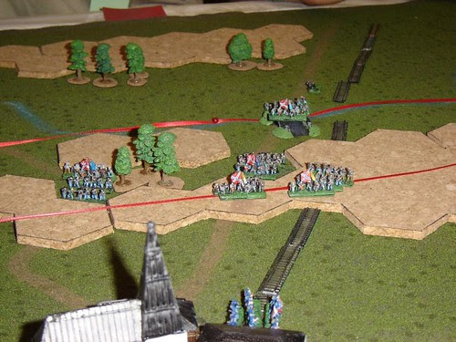 Pender's Division finally crosses Willoughby's Run