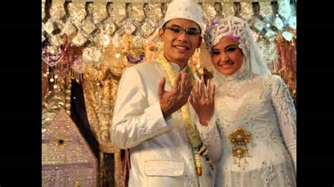 gaun pengantin muslimah youtube