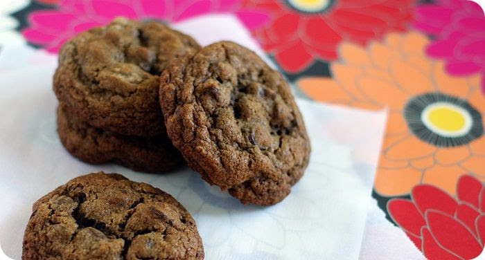 kahlua espresso chocolate chip cookies | bake at 350