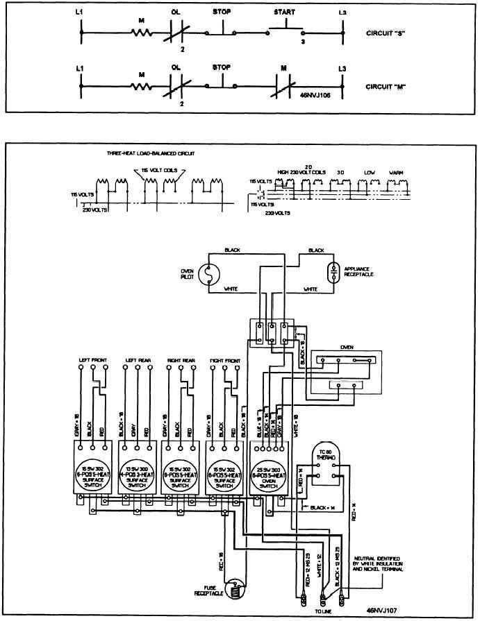 diagram 4 wire stove schematic diagram full version hd