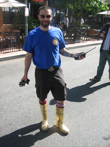 The Brewer with the Golden Boots