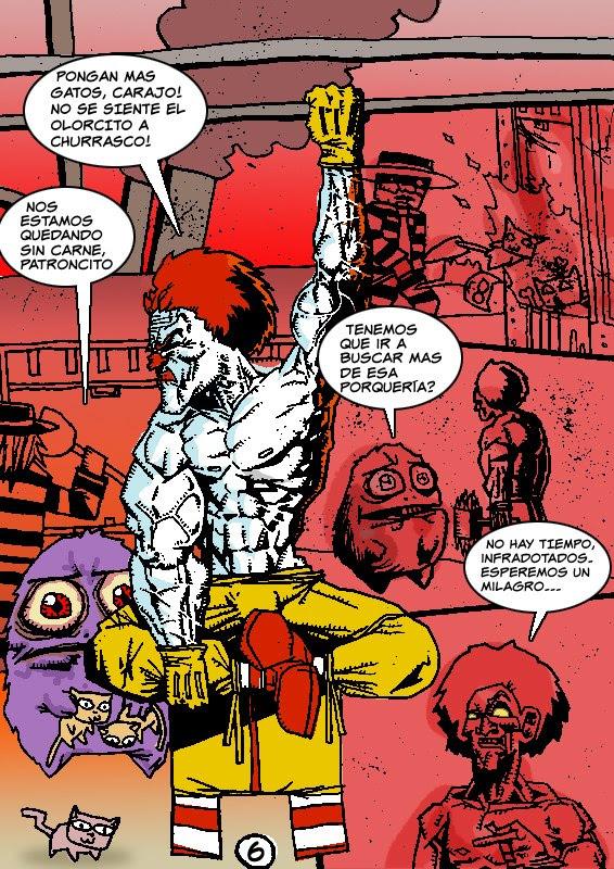 Comic El Cazador parodia MatiasTV
