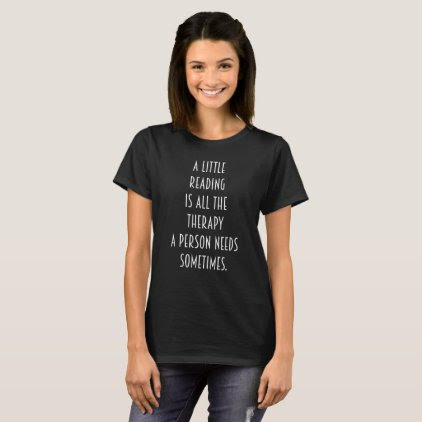 Not Tonight I'm Reading Bibliophile Geek T-Shirt