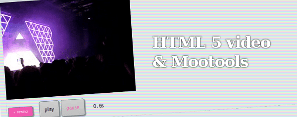 Controles de video con Mootools para HTML 5