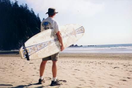Stephen Cawood Geeklit blog surfing Oregon Cannon Beach