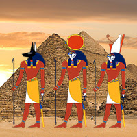 Dioses Egipcios Simbología Del Mundo