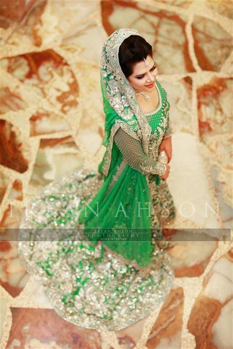 28 Blue & Green Pakistani Wedding Outfits {Irfan Ahson