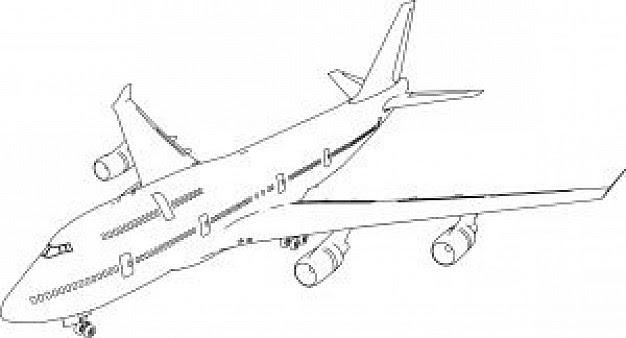 Coloriages à Imprimer Avion Numéro 9714