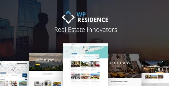 WP Residence v2.0.1 - Real Estate WordPress Theme