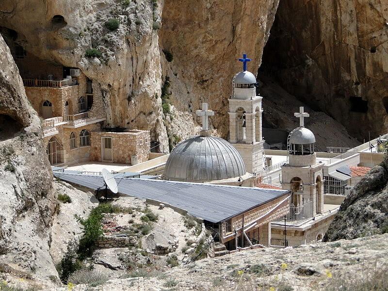 Saint Thecla monastery in Ma'loula