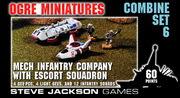 Combine Set 6 - Mechanized Infantry Company with Escort Squadron