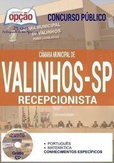 Apostila Concurso Câmara de Valinhos-SP RECEPCIONISTA