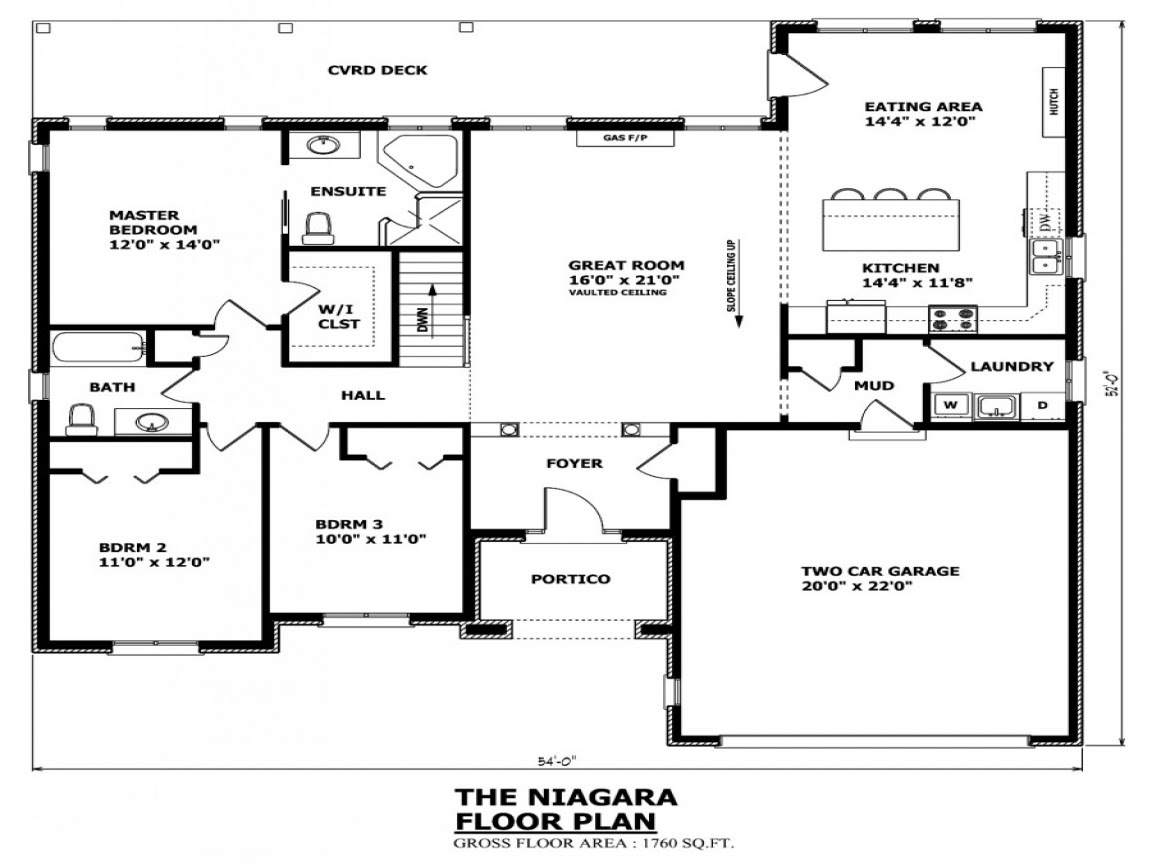 House  Plans  Canada Canadian House  and Home  bungalow house