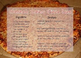 Domino S Pizza Recipe