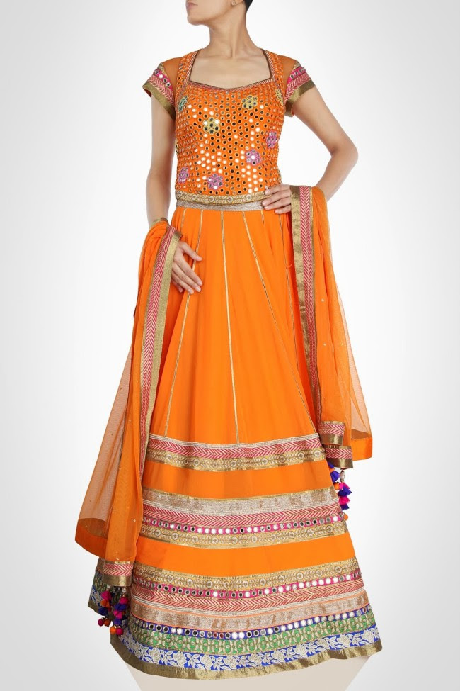 Beautiful-Bridal-Wedding-Lehanga-Choli-Saree-Anarkali-Churidar-New-Fashion-Dress-by-Designer-Surily-Goel-