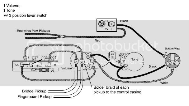 Emg Bas Pickup Wiring Diagram