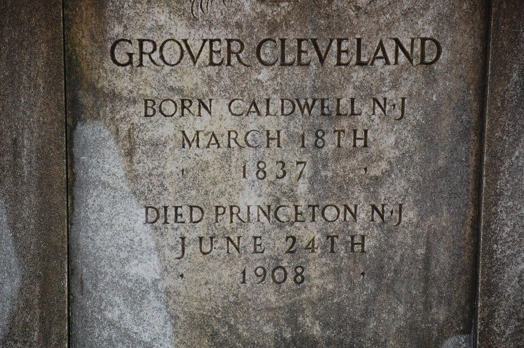 Here rests Grover Cleveland