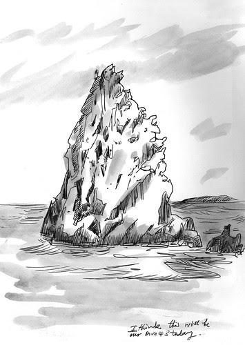 April-May 2013: Caribbean Adventure, Saba - Diamond Rock