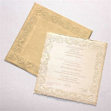 Victorian Elegance   Wedding Invitations Sri Lanka