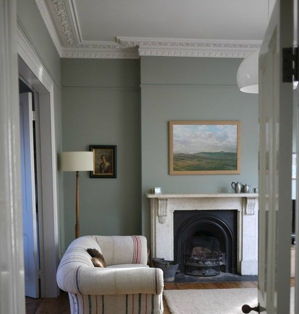 Modern Country Style Colour Study Farrow And Ball Lamp: Modern Country Style: Modern Country Living Room Quest