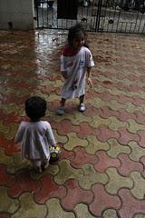 Football Marathon Girl of Bandra Nerjis Asif Shakir 11 Month  Old by firoze shakir photographerno1