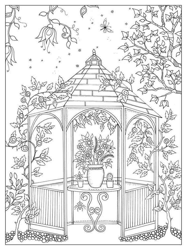 adult art therapy coloring pages 11