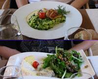 Platos del museo Orsay: Pescado y quesos