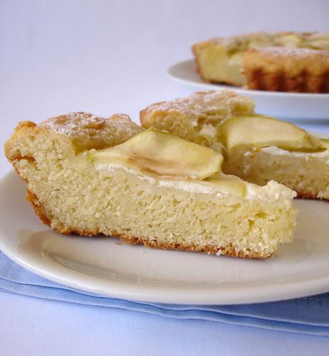 Sugared apple galette