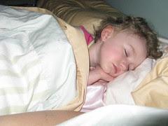Gracie sleeping