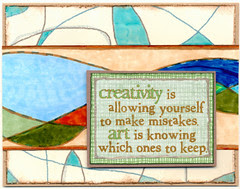 Creativity Notecard