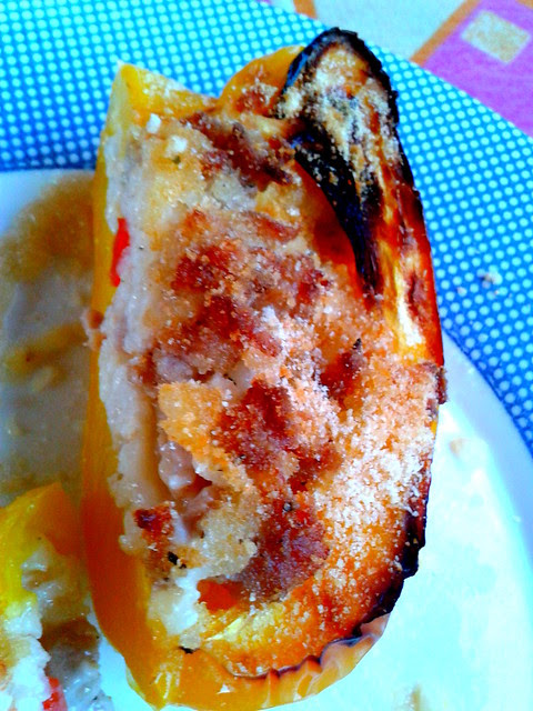 Peperoni ripieni di riso (11)