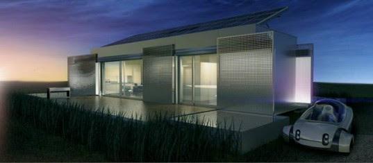 lumenhaus, virginia tech, solar decathlon, solar decathlon 2009, smart house, prefab, modular, solar system, geothermal heat pump, eclipsis system