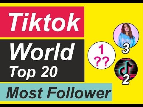 Tiktok : 2020 World Most popular Top 20 Tiktoker