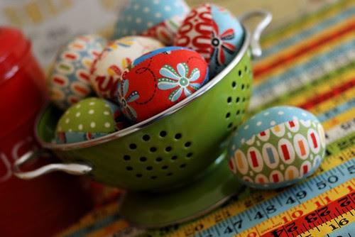 Building Blocks Fabric Easter Eggs