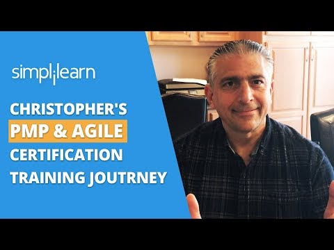 Closing The Skill Gap With Our PMP & Agile Certifications - Christopher's Story |Simplilearn Reviews