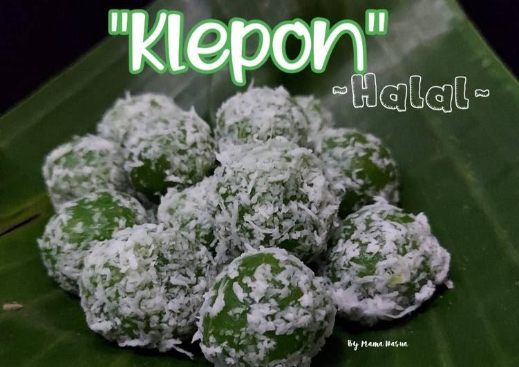 "Step by step membuat Klepon ""Halal"" - Foody Bloggers"