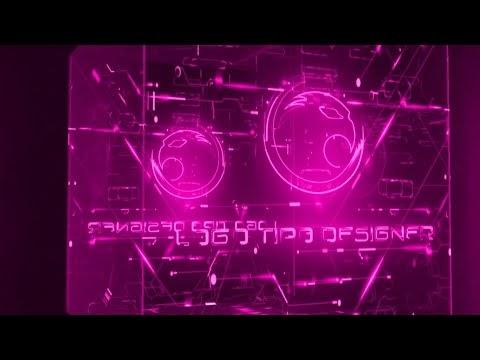 Intro #54 Editavel Logo Tipo Deisgner Tutorial no Final do vídeo