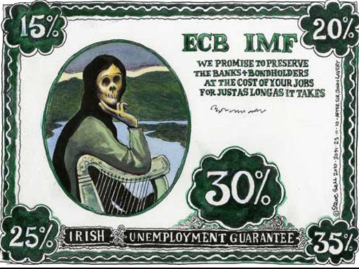 22.11.10: Steve Bell on the Ireland bailout