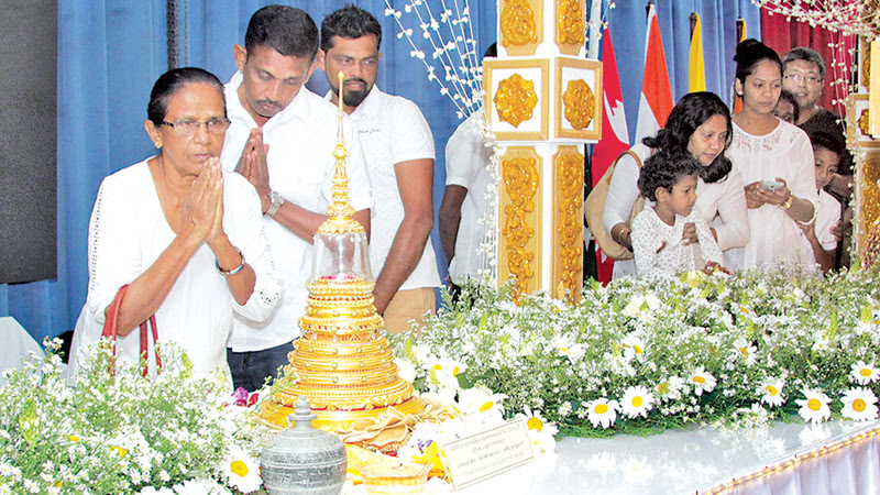 PUBLIC EXPOSITION OF SACRED RELICS