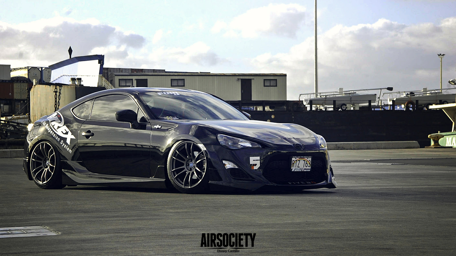 Scion Fr S Blacked Out Wallpaper 1600x900 39721