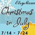 Christmas in July,CIJ,button,blog,etsymom