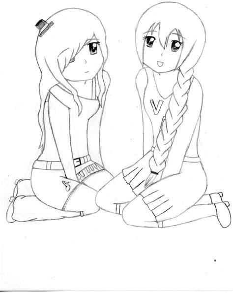 easy anime drawings  friends utau  nana