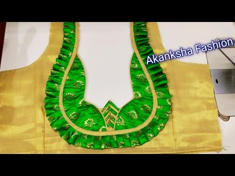 New simple  Blouse Design cutting and stitching