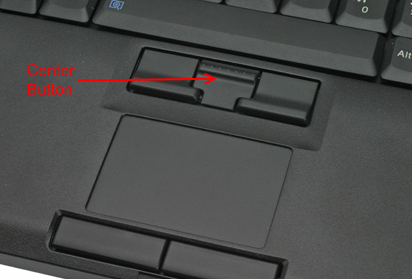 Thinkpad Trackpoint center button