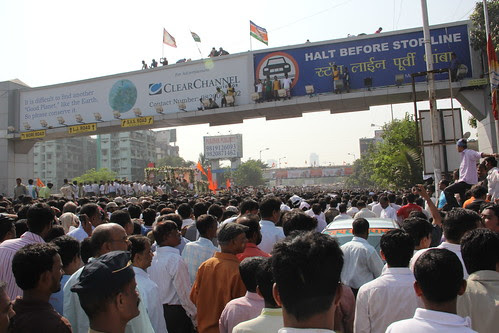 A Bridge Too Far - Last Journey Of Shree Balasaheb Thackeray by firoze shakir photographerno1