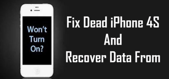 dead iphone data recovery Archives  iOS Device Recovery Blog