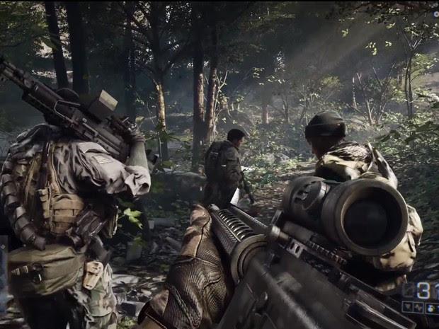 'Battlefield 4' terá mais história no modo para um jogador (Foto: Divulgação/EA)