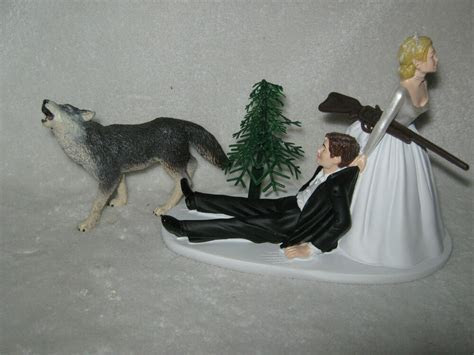 Wedding Party Reception Redneck ~Grey Wolf~ Rifle Hunter
